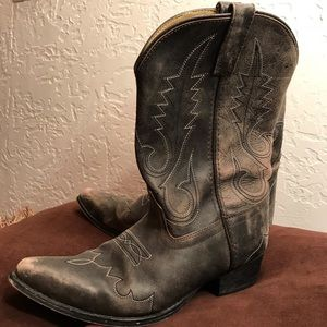 Smoky Mountain - Cowgirl Boots (Youth Size 5.5)